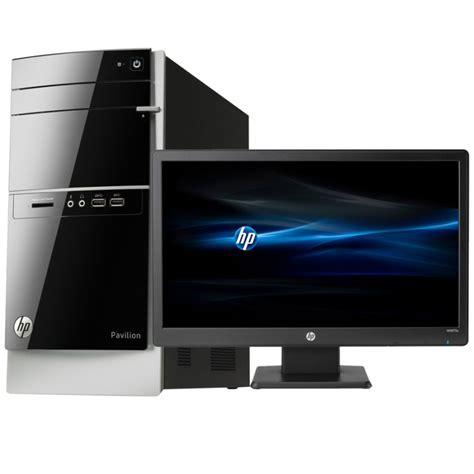 Ordinateur de bureau HP Pavilion 500 530nkm avec écran HP LED W2072a 20 pouces (L0W59EA)   iris