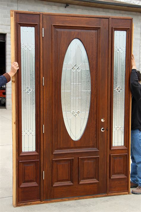 Exterior Door Clearance Oval Glass Doors Clearance Priced