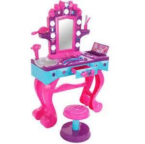 Children S Play Vanity Toys Salon Vanity Hairdresser Play Set Mirror