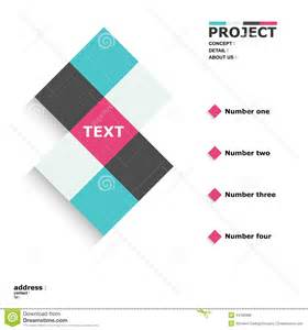 cube layout stock vector image 44180888