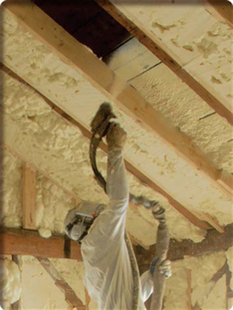 spray foam insulation problems icynene advantages