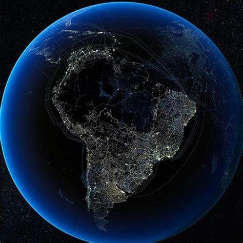 imágenes satelitales obtenidos de goes 13 espectaculares fotos satelitales nocturnas de los
