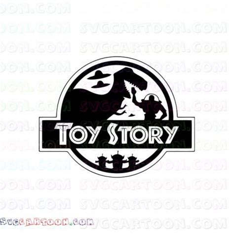 disney toy story logo svg dxf eps  png