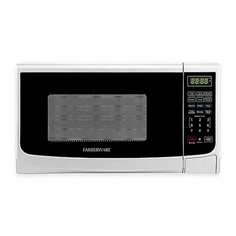 bed bath beyond microwave buy farberware 174 classic 0 7 cubic foot microwave oven in