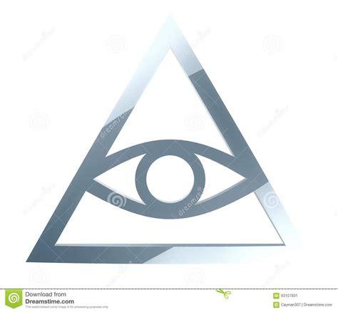 illuminati sign illuminati sign stock illustration image 63107831