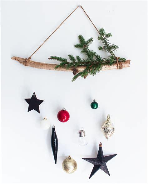 diy christmas ornament wall hanging kassandra dekoning