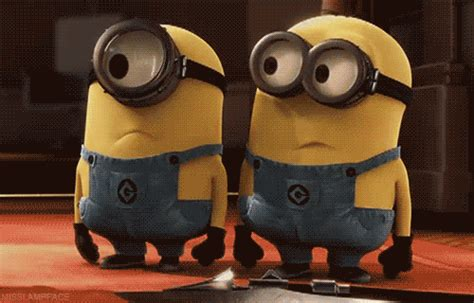 minions imagenes que se mueven despicable me animation gif find share on giphy