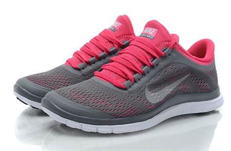 womens nike free 3 0 v5 running shoes s nike free 3 0 v5 grey white pink running