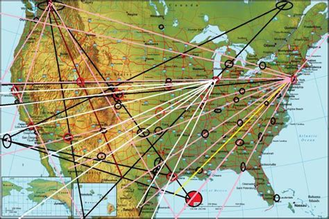 ley lines map usa magnetic ley lines in america is chicago intended to be