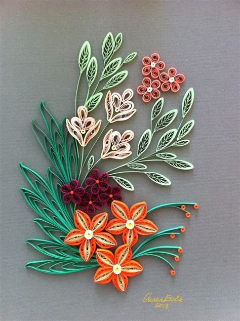 quilling pinterest tutorial flowers an arrangement by canan ers 246 z quilling flowers
