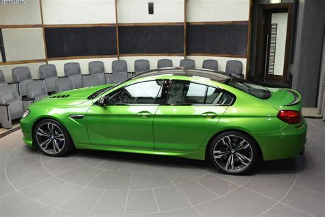 java green bmw bmw m6 gran coupe in java green