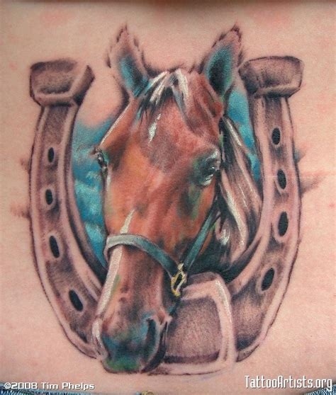 horse head tattoo animal tattoos and designs page 91