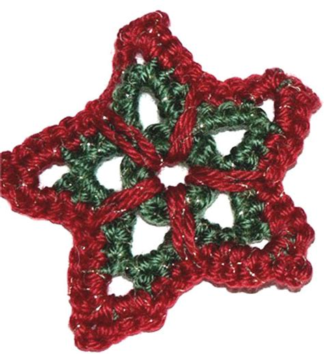 star ornament crochet pattern from caron yarn favecrafts com