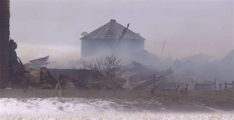 Barn Kitchener by Damage Estimate 500 000 In Barn Near Walkerton Ctv Kitchener News