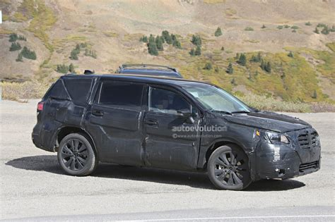 subaru ford 2019 subaru tribeca heir spied benchmarking against mazda