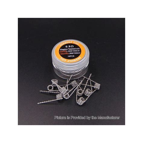 Authentic Twisted Kanthal A1 Wire 28 X3 Ga Awg Khant T0210 authentic iwodevape clapton twisted 0 9 ohm kanthal a1 prebuilt coil