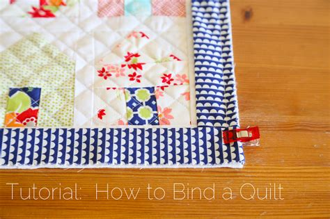 How To Put Binding On Quilt by Tutorial How To Bind A Quilt Quilt Binding Tutorial 187 Loganberry Handmade
