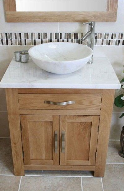 Wooden Bathroom Sink Cabinets by Solid Oak Bathroom Vanity Unit Basin Floor Cabinets Marble