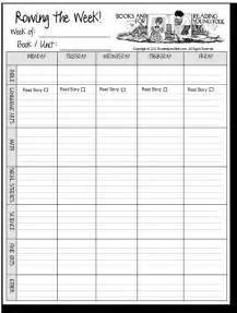 Free Homeschool Lesson Plan Templates blank b fiar planning sheet homeschool before five in