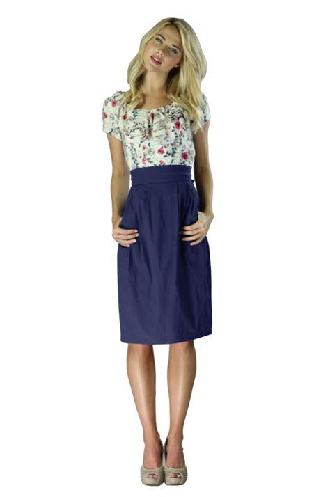 modest dresses quot quot dress in navy
