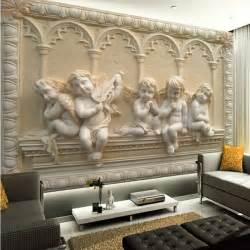 wholesale wall murals wholesale 3d wall murals jade european angel mural tv