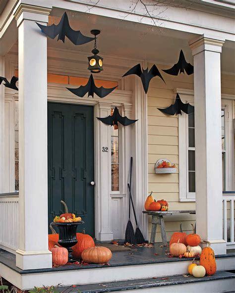 exterior decoration outdoor halloween decorations martha stewart