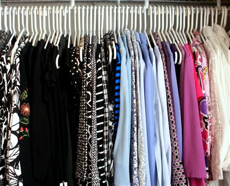 Clothes In The Closet by Reorganize Your Closet Without Spending A Dime Creating