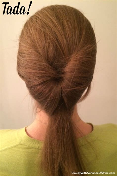 easy hairstyles running late quick easy running late hairstyle