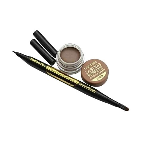 Eyebrow Gel Landbis jual landbis eyebrow gel 3 in 1 eyeliner with brush no 2