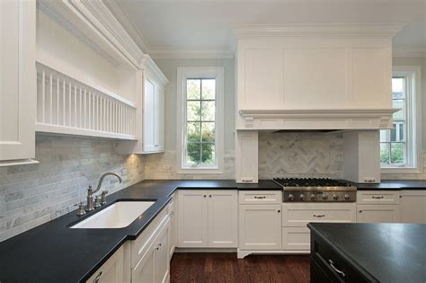 Oxford Kitchen Cabinets Marble Herringbone Backsplash Contemporary Kitchen Oxford Development