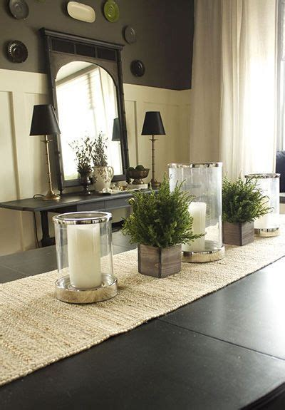 dining room table arrangements the 25 best dining table centerpieces ideas on