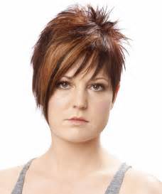is cutting thin hair with a razor for it 30 terrific short hairstyles for round faces creativefan