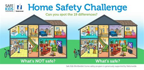 Safe At Home by Keeping Your Home Workplace Safe And Healthy Reducing Risk And Hazards Tanda Creativ Es