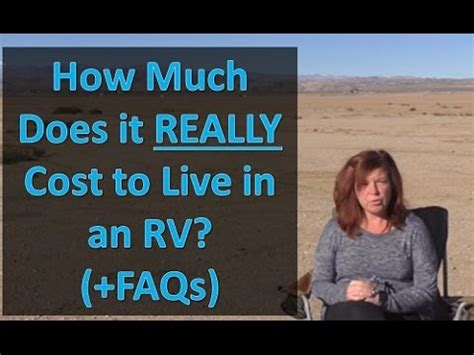 how much does it cost to live in a tiny house tiny how much it really costs to live in an rv and faqs