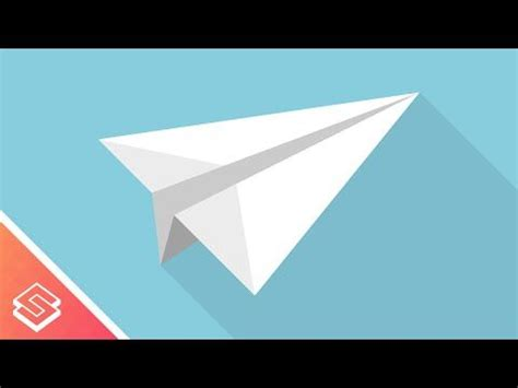 inkscape tutorial airplane inkscape for beginners paper airplane graphic youtube
