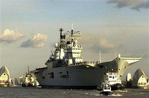 ark boat carrier used aircraft carrier up for sale