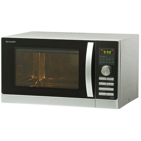 Sharp Microwave Oven Grill 1000 Watt R 728w In R728 In sharp r843slm 25 litre 900w grill combination microwave oven in silver ebay