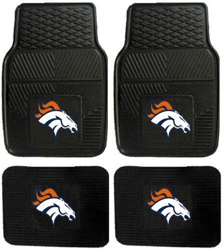 Broncos Car Mats denver broncos floor mats price compare