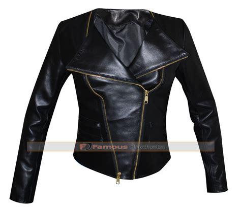 motorcycle style jacket mariah carey black motorcycle style leather jacket