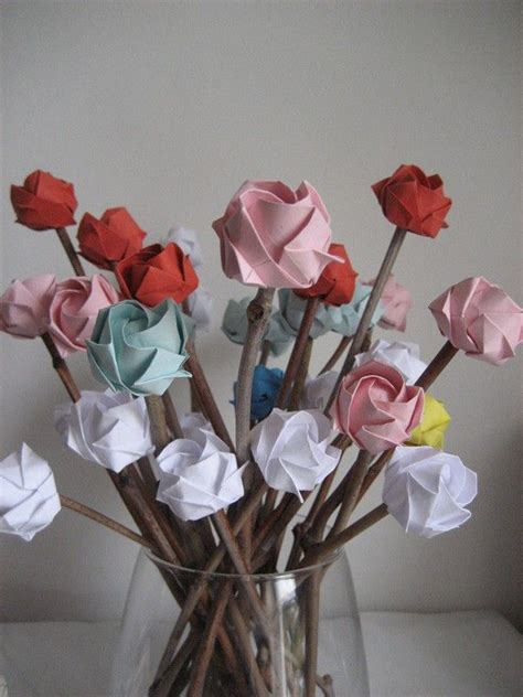 Japanese Origami Flowers - best 25 origami flowers ideas on origami