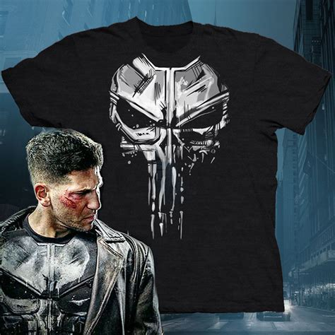 T Shirt Punisher Logo the punisher new skull daredevil netflix shirt t shirt