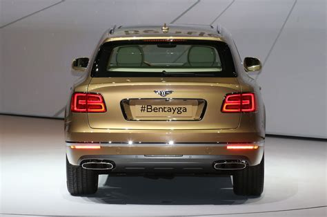 bentley rear 2017 bentley bentayga suv revealed ahead of frankfurt