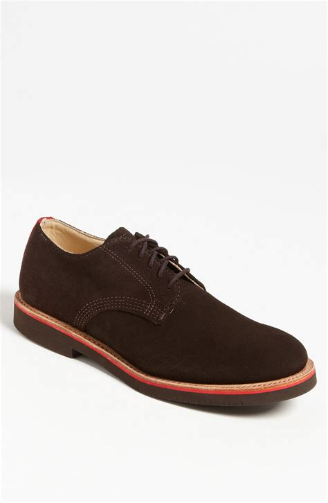 walkover shoes walk derby buck shoe in brown for chocolate