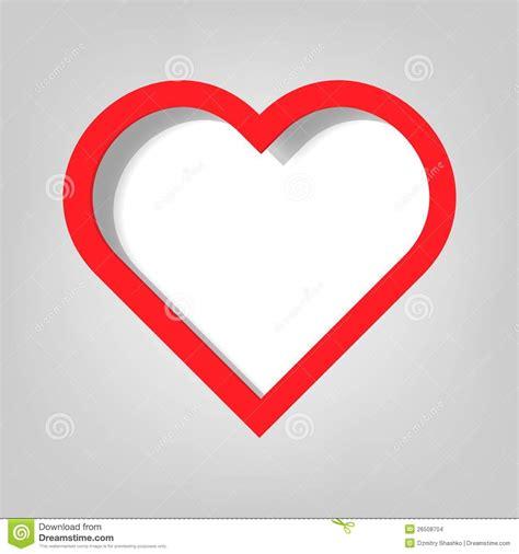 printable heart poster plakatowy szablon serce obrazy stock obraz 26508704