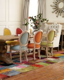 Colorful Dining Room Sets 20 Mix And Match Dining Chairs Design Ideas