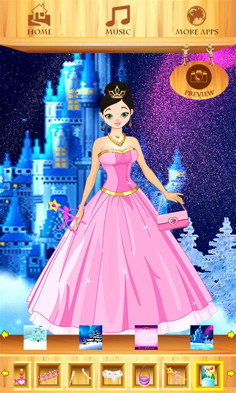 dress up christmas princess free app download android
