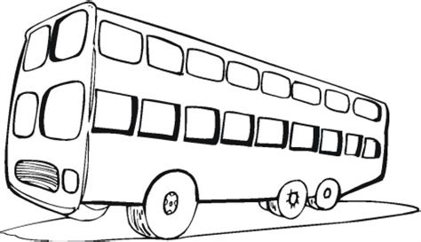 coloriage colorier coloriage autobus colorier