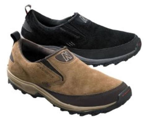 new balance s casual suede slip on shoes in black and