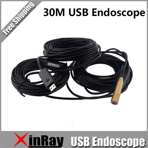 Cncd B121 Howe S Boxer Mens Flower Pattern 30m usb endoscope inspection with 4 led waterproof copper endoscope borescope