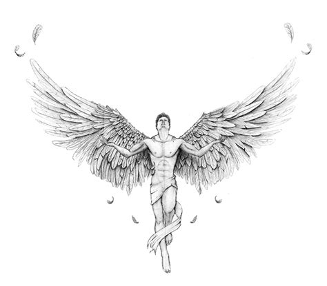 guardian angel tattoos small gallery guardian wings designs
